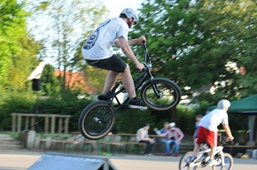 Symbolbild zum Workshop Skate- und BMX-Anlage © Christoph Knoke/CC BY-NC-ND 3.0 DE